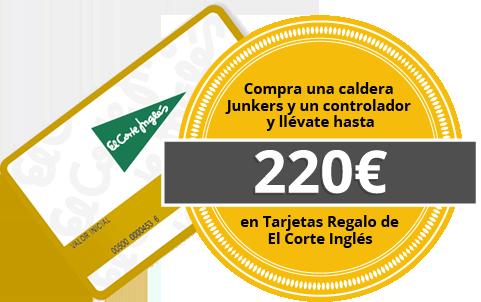 Promo Caldera Junkers Corte Ingles